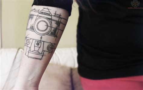 camera tattoo camera diagram tattoo on arm site title