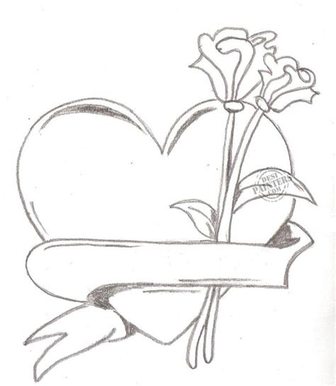 pencil drawings charcoal drawings and art galleries rose pencil sketches of hearts and roses pencil drawings of