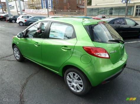 mazda 2 green spirted green metallic 2012 mazda mazda2 sport exterior