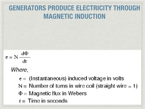 electromagnetic induction to produce electricity 4electromagnetism