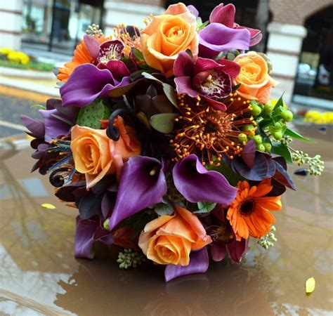 fall flowers for wedding florist friday recap 10 6 10 12 vivid hues