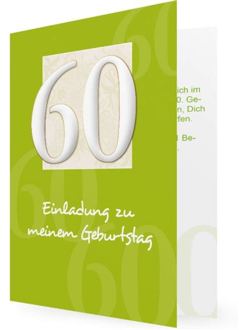 Muster Einladung Zum 60 Geburtstag Einladung Zum 60 Geburtstag Familieneinladungen De