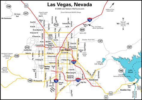 america map vegas para visitar las vegas usa taringa