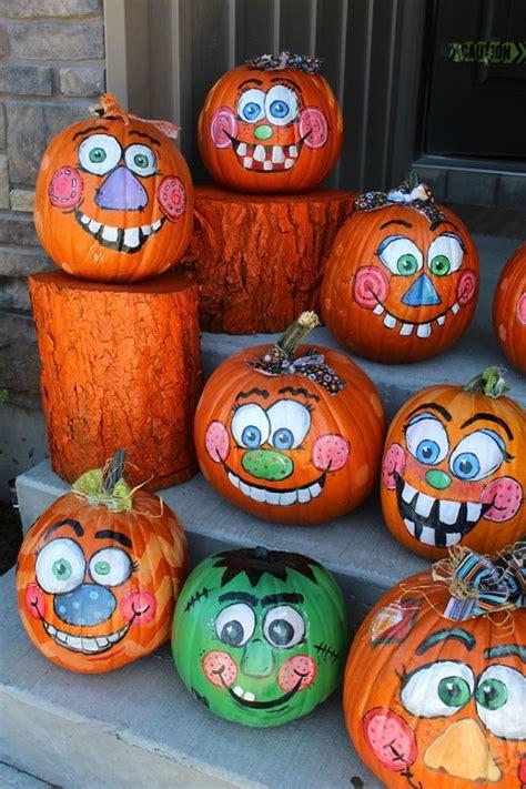 happy pumpkin faces carving patterns designs decoration pictures entertainmentmesh