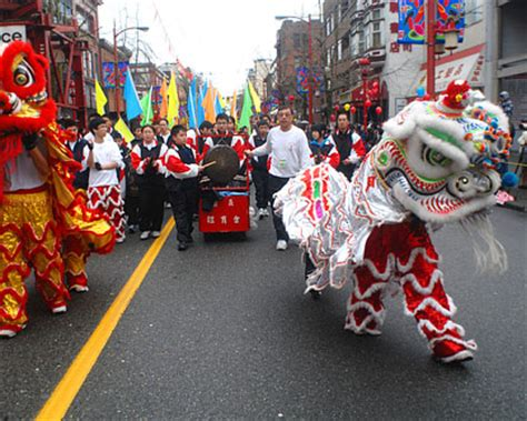 new year parade chinatown vancouver bc vancouver chinatown sights sounds and of heritage