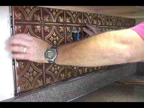 installing  kitchen backsplash youtube