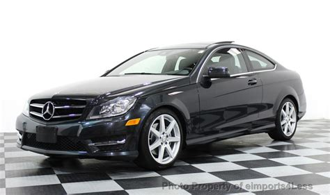 2014 Mercedes C350 Coupe by 2014 Used Mercedes Certified C350 4matic Amg Sport