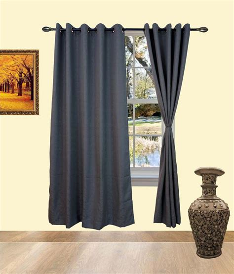 pvc curtains india deco india grey cotton pvc curtains buy deco india grey