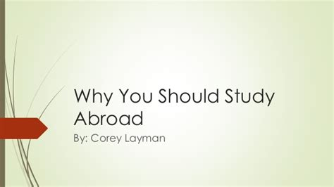 why study abroad in the usa what to expect and prepare for books why you should study abroad 1