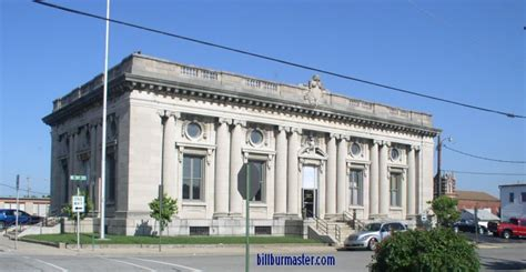 looking west at the belleville post office july 2009