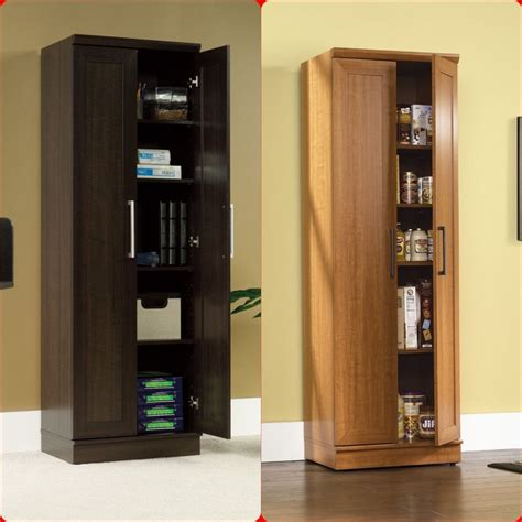 Kitchen Food Pantry Cabinet | tall cabinet cupboard storage organizer office laundry