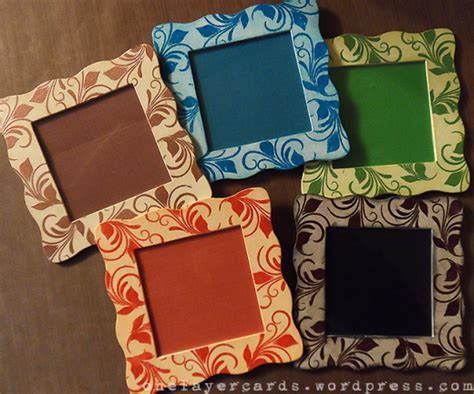 Handmade Picture Frame - paper craft project no 95 handmade gifts