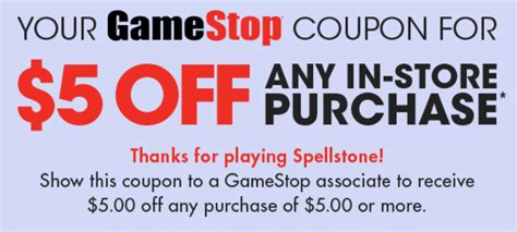 printable gamestop gift cards free 5 00 off 5 00 gamestop purchase coupon