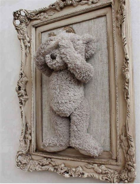 Frame Foto Teddy diy cheap teddy picture frame from walmart only 15 00 upcycle diys