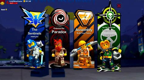 Lego Universe lego universe factions b roll
