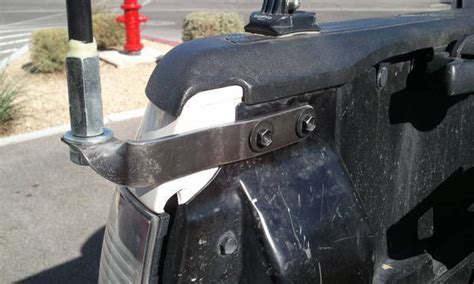 Truck Bed Flag Mount by Cb Antenna Flag Mount Through Tailgate Tacoma World