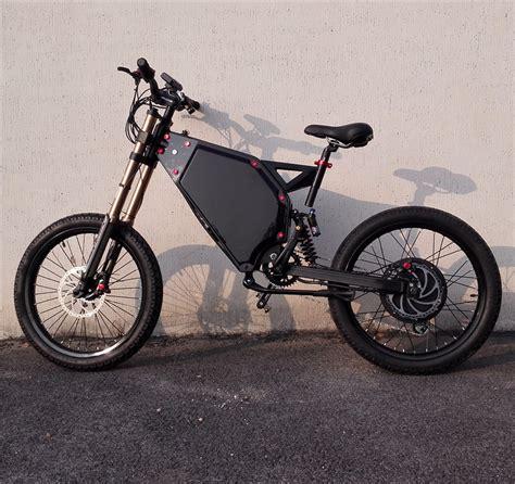 E Bike 72v by Suspension Electric Bicycle Bike 72v 5000w Electric