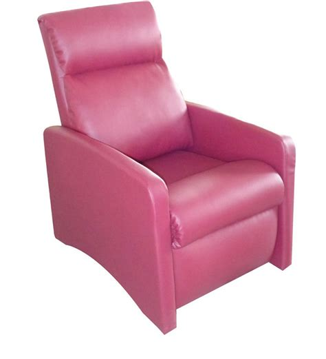 pink recliners luxer recliner pink by alcanes by alcanes online sofa
