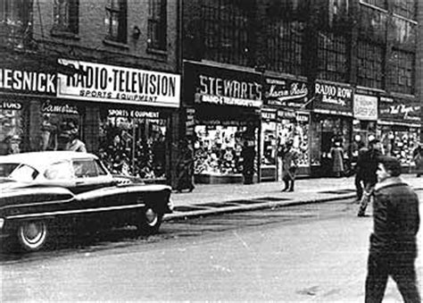 swing street nyc when lower manhattan had a radio row ephemeral new york
