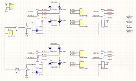 pcb layout for beginners exle of schematic diagram a pcb circuit and