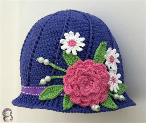 como hacer gorros a crochet para nina gorros a crochet