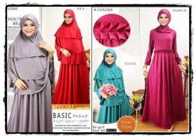Pakaian Muslim Wanita Fashion Korea Busana Muslim Supplier Pakaian Pria
