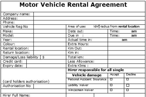 Letter Of Agreement To Rent A Car car rental agreement free car rental agreement exle rental letter sles blank car rental