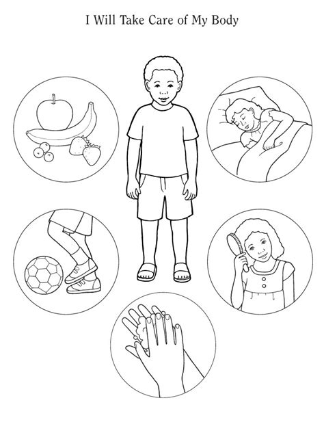 preschool coloring pages human body my body coloring page printable coloring pages
