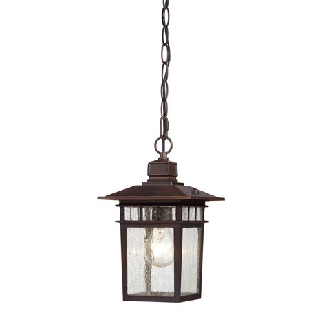 Outdoor Rustic Lighting Nuvo Lighting Cove Neck 1 Light Outdoor Hanging Lantern In Rustic Bronze L Brilliant Source Lighting