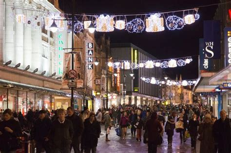 newcastle christmas lights switch on brings festive cheer