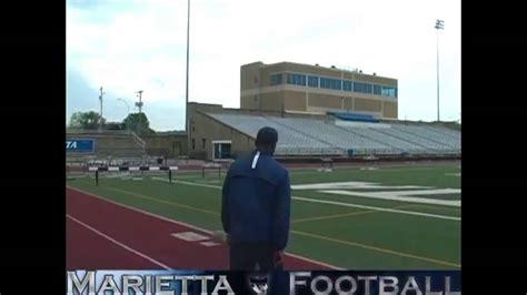 Marietta College Search Marietta College Football S Don Drumm Stadium Tour Part 1