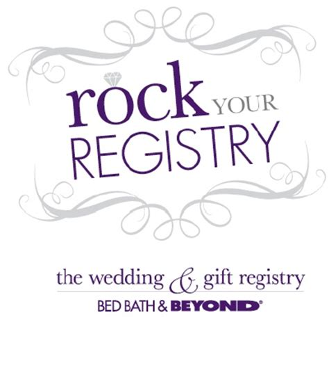 bed and bath wedding registry bed bath beyond gift registry programname change blog