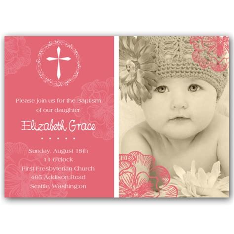 Baptism Invitations by Baptism Invitation Www Imgkid The Image Kid Has It