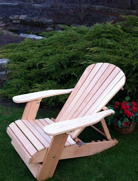 position adjustable reclining adirondack chair