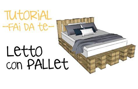 Costruzioni Con Bancali by Progettare Letto Con Pallet Progetto Con Bancali Fai Da