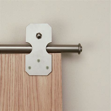 quiet glide notched rectangle sliding standard single door