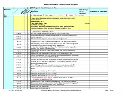 Work Plan Template Xls 8 work plan template excelmemo templates word memo