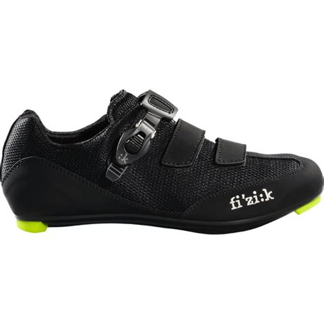 mens road bike shoes fizik r5 uomo s road cycling shoes 41 5 black ebay