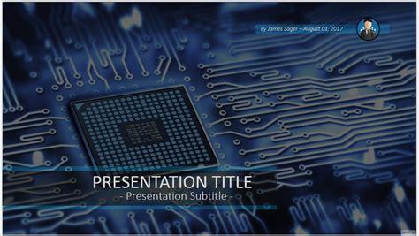 circuit board template circuit board powerpoint 55427 free circuit board