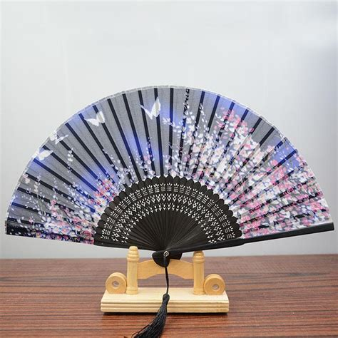 fancy hand fans wholesale wholesale chinese style elegant oriental cherry flower