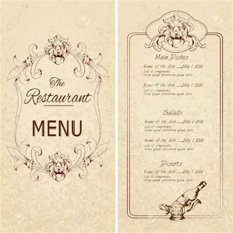vintage menu template 25 vintage menu templates design trends premium psd