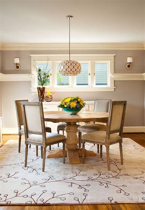 area rug dining room how to choose the perfect dining room rug