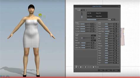 3d model designer making a custom avatar for marvelous designer cg elves