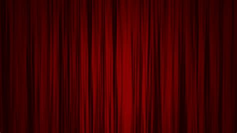reveal curtain red curtains open to reveal a green screen motion