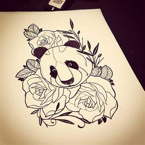 tattoo de panda feminina 20 fotos de tatuagens de panda significados