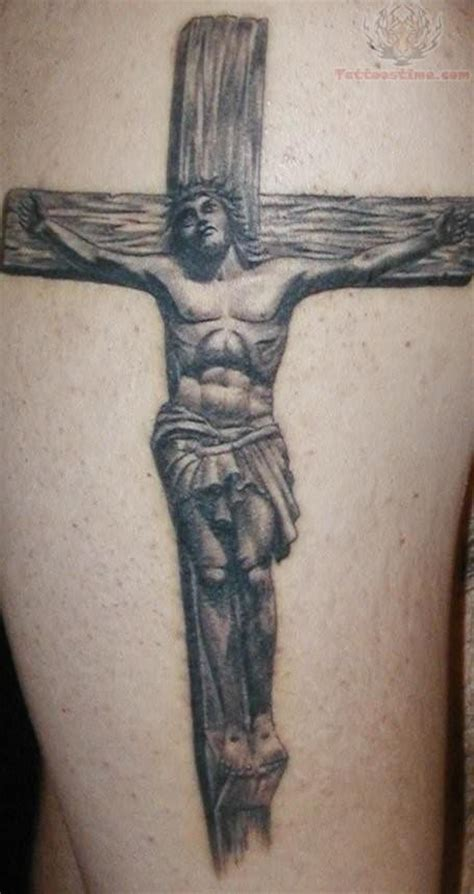 jesus on the cross tattoos awesome grey ink jesus cross