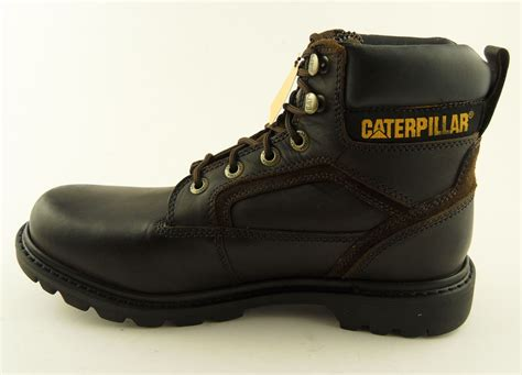 clearance mens work boots mens cat caterpillar stickshift classic work boots brown