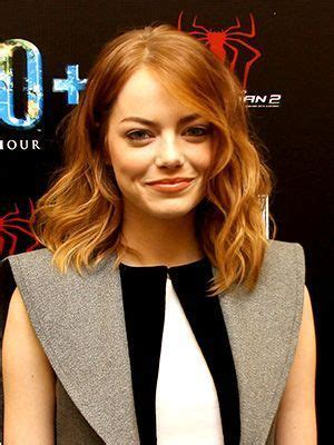 emma stone long bob bobs to find out and blog on pinterest