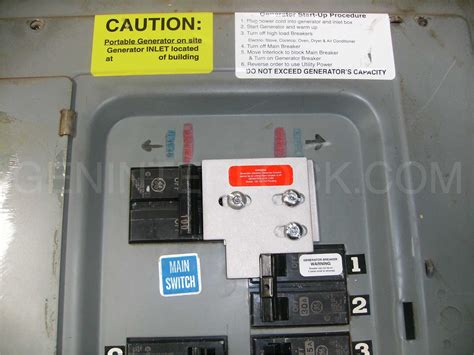generator interlock kit general electric ge 100
