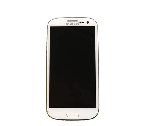 Samsung S3 Gt I9305 samsung galaxy s3 gt i9305 digitizer lcd screen and frame assembly in white including free tools